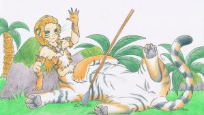 Gift: Queen of the Jungle by Mion-93