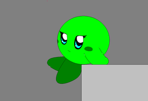 green kirby X3 by flame-of-justice