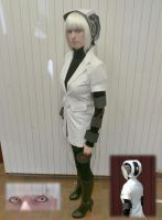 GLaDOS Cosplay WIP 2 by TealCosplay