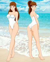 Ellie and Emmie Swimsuits by PervyAngel