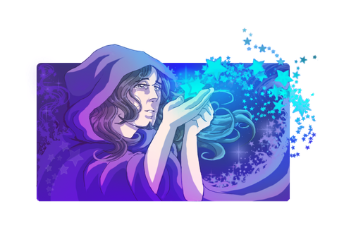 Made of stardust...Conrad by SmilingOfTheHealer
