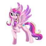 princess cadence by mechanicalmasochist