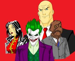 The Legion of Doom by VIRGIL46
