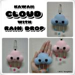 Kawaii Cloud with Rain Drop by SongAhIn