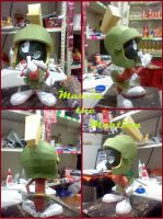 Marvin the Martian papercraft by DarkRockerRUS