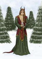 Merry Christmas from Erias by Captain-Savvy