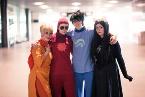 Homestuck: Pose Like a Team by felixize