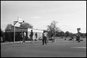 Basketball in the Park by saamhashemi