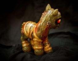 Silent Hill Pony back details by aquiafin