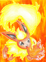 Flareon- Napalm by Eevie-chu
