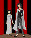Nando and Arrietty as a Ring master by Shalialove