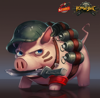 Soldier Swine by Larbesta