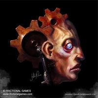 Frictional Games: Abandoned graphic design. by SethNemo