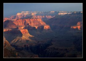 The Grand Canyon - early.. by tonyeck