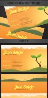 freebie: Nature Business Card by yahya12