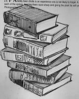 Stack of Books by KingVahagn