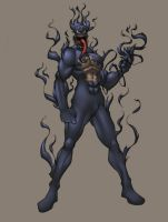 venom-torch colored by shalomone