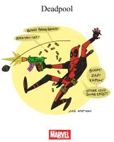 Mighty Marvel Month of March - Deadpool by tyrannus