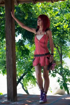 Kairi . Kingdom Hearts II by AyaFrost