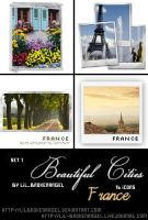 Icons - BeautifulCities France by lilbrokenangel