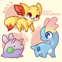 :Pokemons: by PrePAWSterous