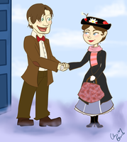 Doctor Poppins by MousieDoodles