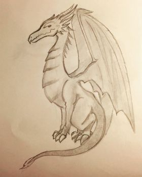 My First Dragon ! by ShadeOfYelloow