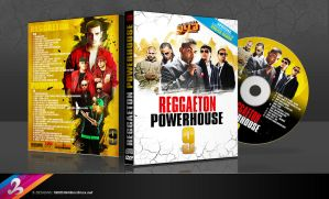 Reggaeton DVD Cover by AnotherBcreation
