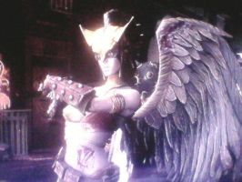 Injustice: Gods Among Us - Hawkgirl by TheRumbleRoseNetwork