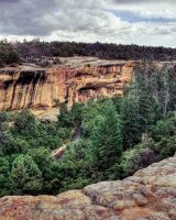 Mesa Verde Cliff Dwelling by Ray-Devlin