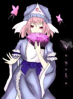 Yuyuko : thank you for 5k by experimental-thing