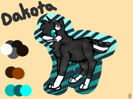 Dakota ref by AutumLeavesofFall