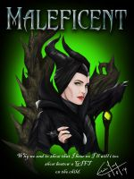 Maleficent by ElaineyYong
