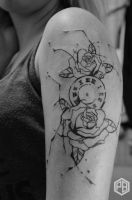 Roses and watch 1st session by Transcendentalny-P