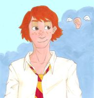George Weasley by Svenly