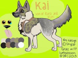 Kai :D by wolfhailstorm