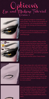 Eye Repaint Tutorial #1 by SickRobot