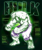 HULK by caananwhite