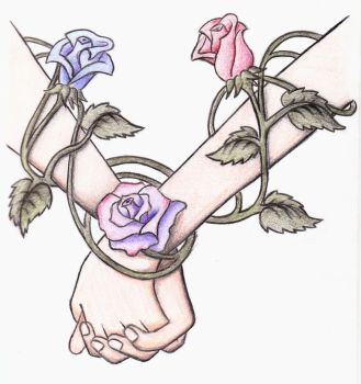 Roses Entwined by TheForgtten