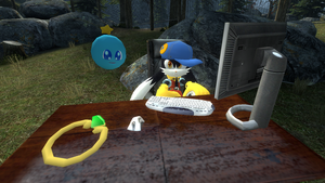 Klonoa and Huepow in Garry's Mod by MrChezco1995