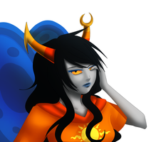 Homestuck: Vriska by Quitoxica