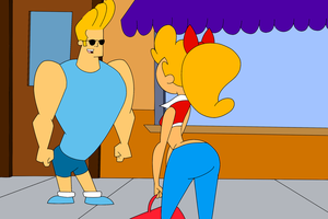 Johnny Bravo Talking by HAAnimation