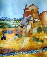 Van Gogh's The Old Mill by AnnaSulikowska