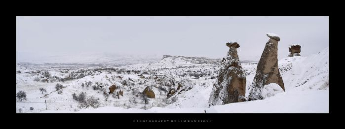 Christmas In Cappadocia by couleur