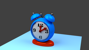 Blender - Clock by Agent-Minnesota
