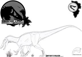 InGen Files Baryonyx BETA version II by Miyess