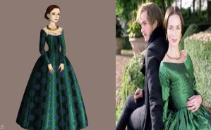 Victoria's Green Gown: The Young Victoria by Inuyashasmate