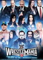 WWE Wrestlemania 31 poster by Uday Rai by iamuday