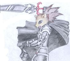 The Valtic Knight Attacking by TheMoonMonkey