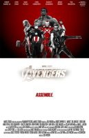 Avengers assemble by WeaponXIX